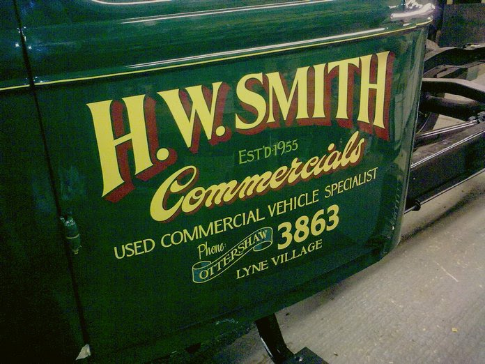 Traditional Signwriting All Signs