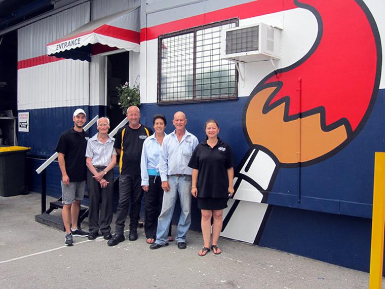 Left to Right :: David, Arthur, Ian, Netta, Vin & Ann-Marie